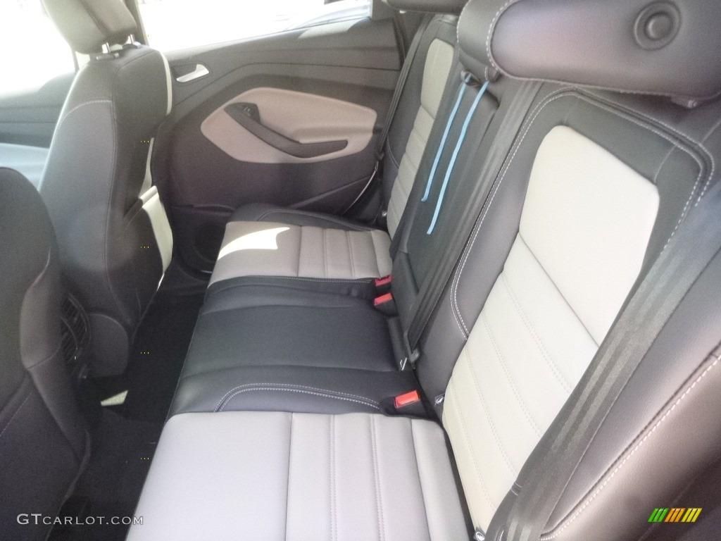 2019 Escape SEL 4WD - Oxford White / Chromite Gray/Charcoal Black photo #8