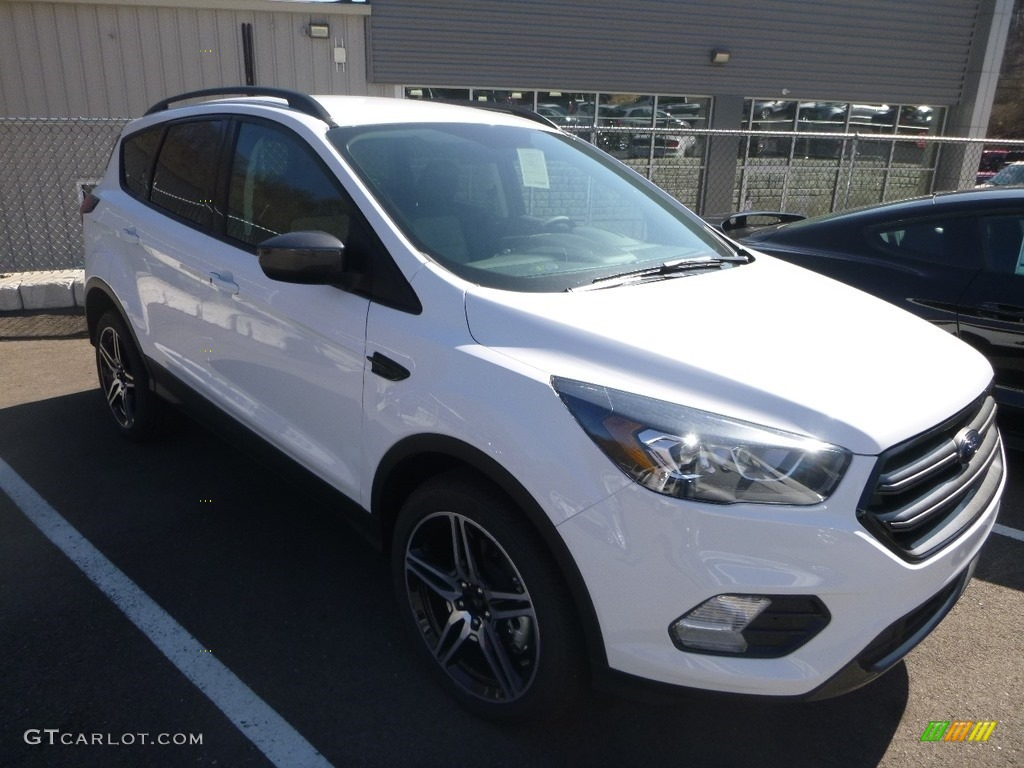 2019 Escape SEL 4WD - Oxford White / Chromite Gray/Charcoal Black photo #3