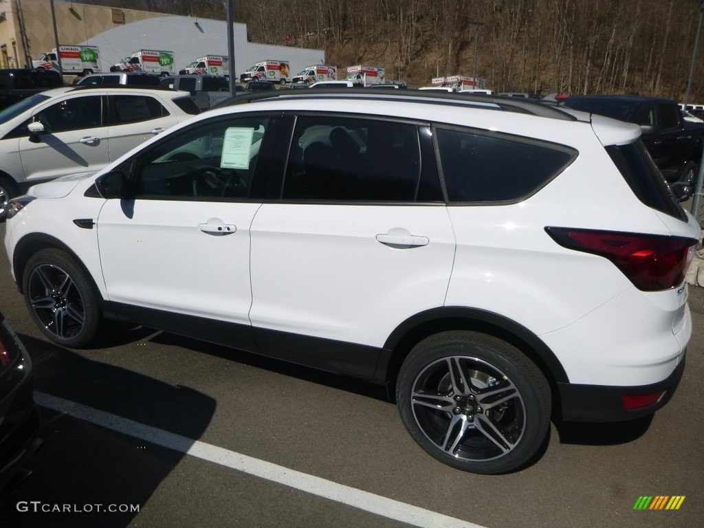 2019 Escape SEL 4WD - Oxford White / Chromite Gray/Charcoal Black photo #6