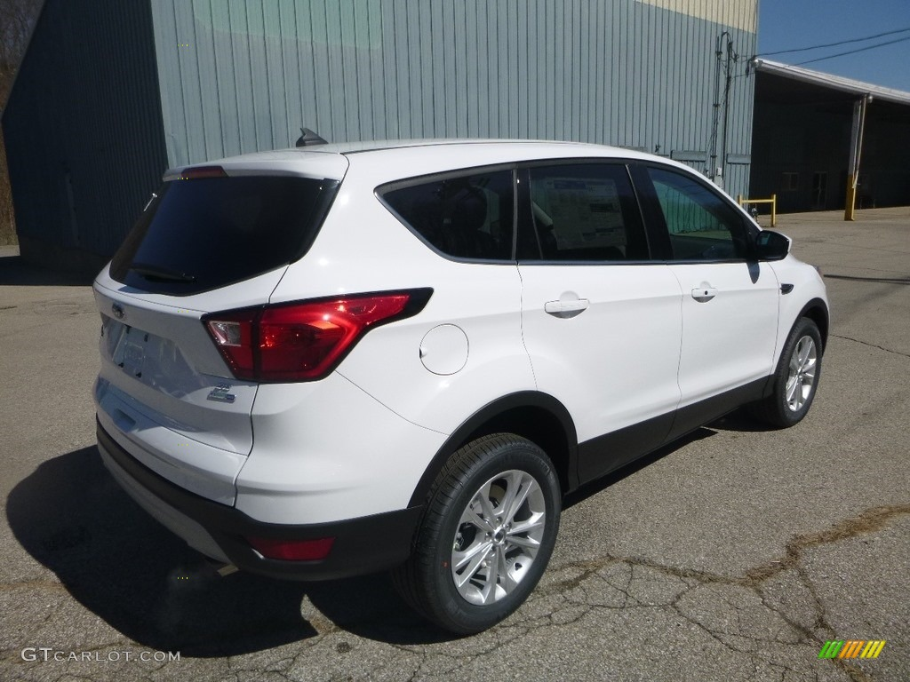2019 Escape SE 4WD - White Platinum / Chromite Gray/Charcoal Black photo #2