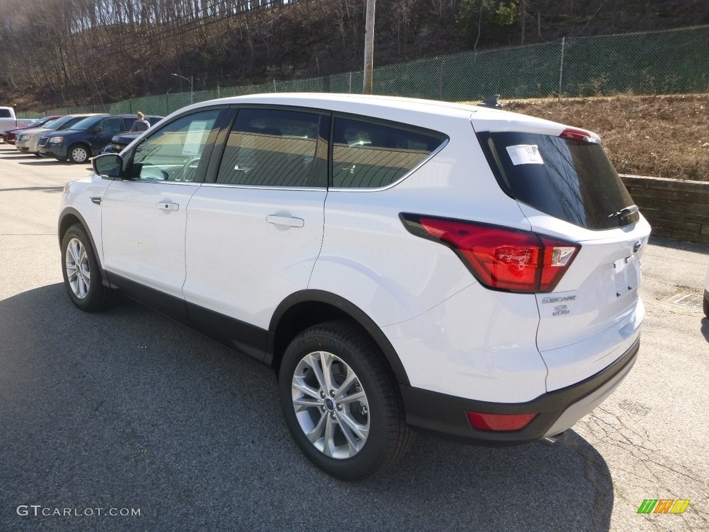 2019 Escape SE 4WD - White Platinum / Chromite Gray/Charcoal Black photo #6