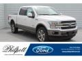 White Platinum 2019 Ford F150 King Ranch SuperCrew 4x4