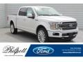 White Platinum 2019 Ford F150 Limited SuperCrew 4x4