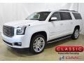 White Frost Tintcoat 2019 GMC Yukon XL SLT 4WD