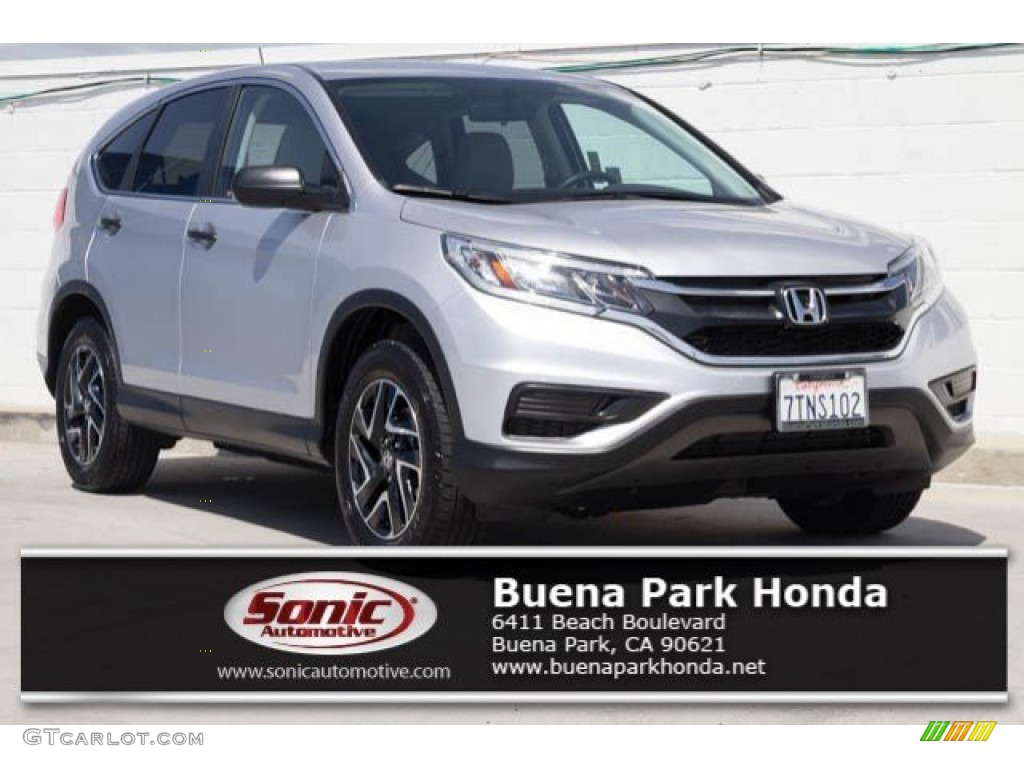 2016 CR-V SE - Alabaster Silver Metallic / Gray photo #1
