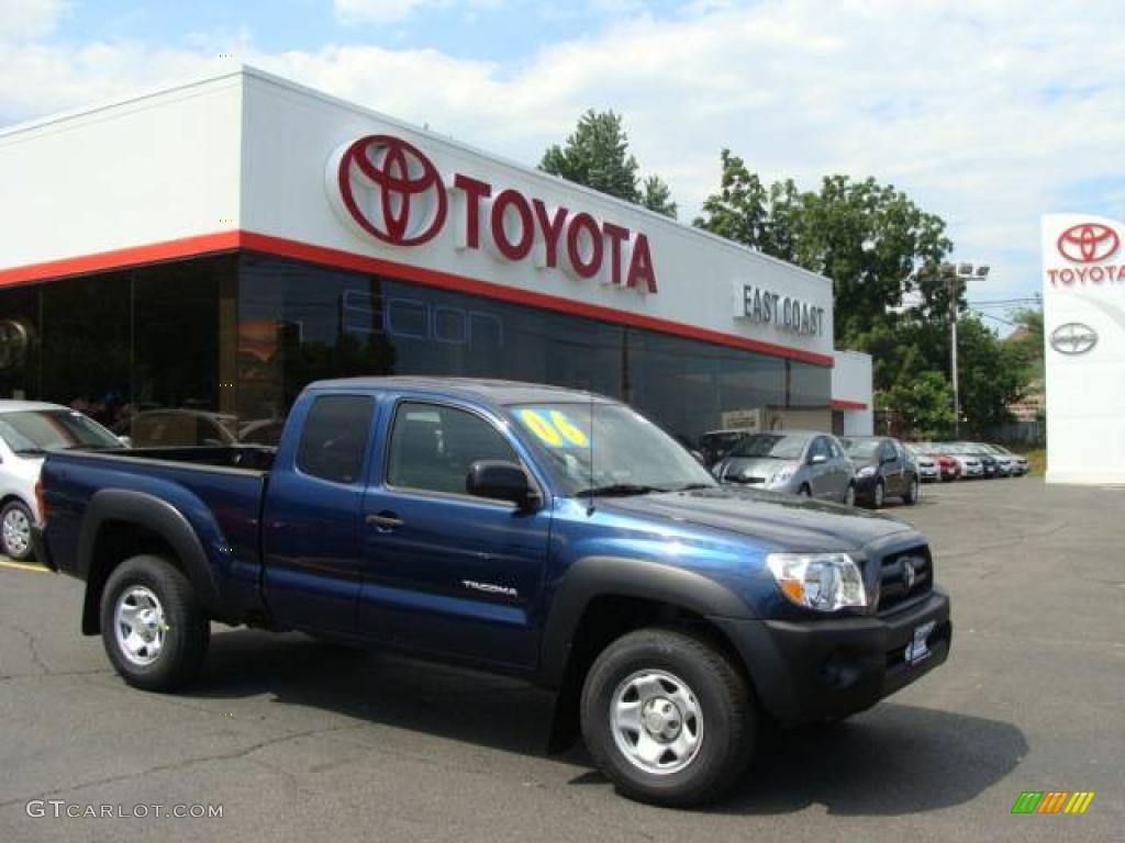 Perfect Indigo Ink Pearl Toyota Tacoma. Toyota Tacoma Access Cab 4x4
