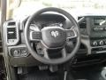 2019 5500 Tradesman Regular Cab 4x4 Chassis Steering Wheel