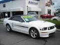 2007 Performance White Ford Mustang GT/CS California Special Convertible  photo #28