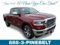 Delmonico Red Pearl - 1500 Laramie Quad Cab 4x4 Photo No. 1