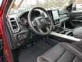 2019 1500 Laramie Quad Cab 4x4 Black Interior