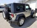 2007 Bright Silver Metallic Jeep Wrangler X 4x4  photo #5