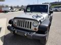 2007 Bright Silver Metallic Jeep Wrangler X 4x4  photo #8