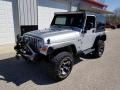 2005 Bright Silver Metallic Jeep Wrangler X 4x4 #132662059