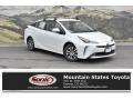 Blizzard White Pearl 2019 Toyota Prius XLE AWD-e