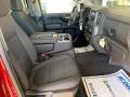 Jet Black Front Seat Photo for 2019 Chevrolet Silverado 1500 #132679383