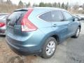 2014 Twilight Blue Metallic Honda CR-V EX-L AWD  photo #2