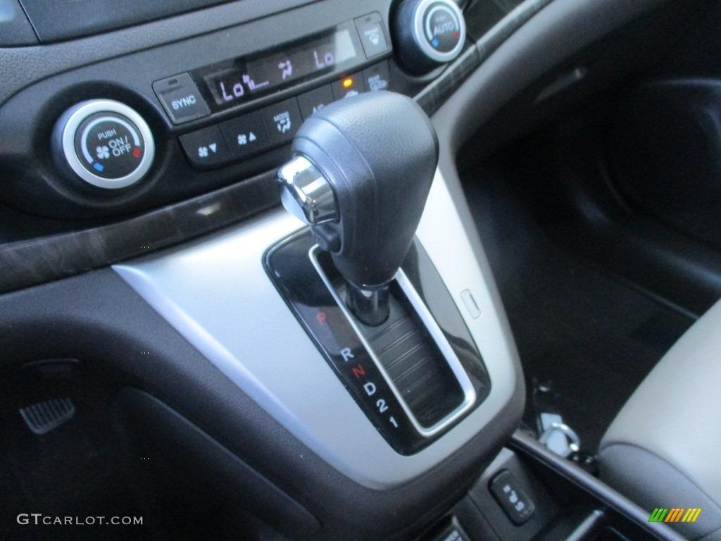 2013 CR-V EX-L AWD - Mountain Air Metallic / Gray photo #15