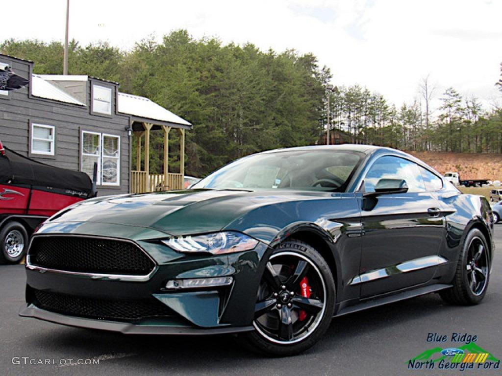 2019 Mustang Bullitt - Dark Highland Green / Ebony photo #1