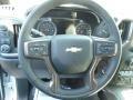 Jet Black Steering Wheel Photo for 2019 Chevrolet Silverado 1500 #132699591