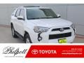 Super White 2018 Toyota 4Runner SR5 4x4
