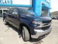 2019 Northsky Blue Metallic Chevrolet Silverado 1500 LT Crew Cab 4WD  photo #3