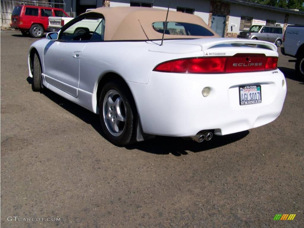 1999 northstar white mitsubishi eclipse spyder gs 13242469 photo 3 car color. Black Bedroom Furniture Sets. Home Design Ideas
