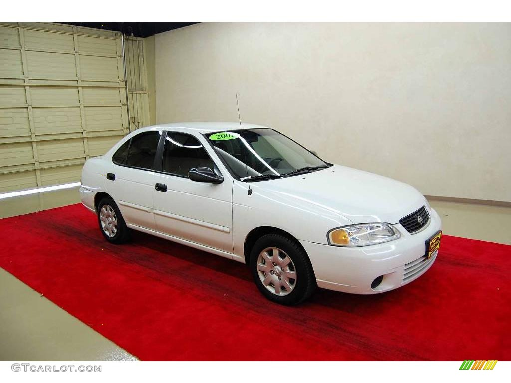 2001 avalanche white nissan sentra xe 13231937 gtcarlot. Black Bedroom Furniture Sets. Home Design Ideas