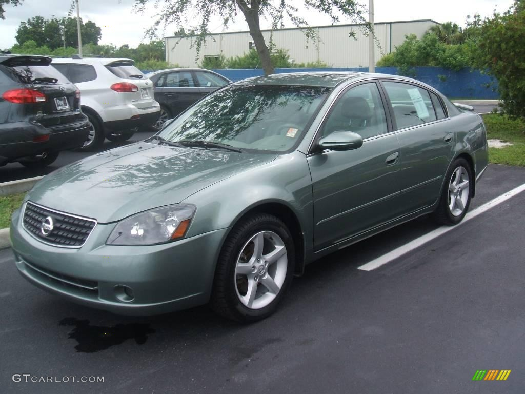 2005 mystic emerald green nissan altima 3 5 se 13227834 car color galleries 2005 nissan altima custom interior