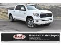 2019 Super White Toyota Tundra Platinum CrewMax 4x4 #132725220