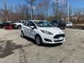 Oxford White 2014 Ford Fiesta SE Sedan