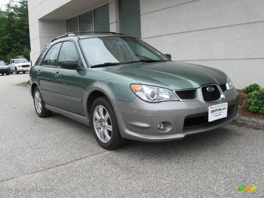 2006 evergreen metallic subaru impreza outback sport wagon 13239412 car color. Black Bedroom Furniture Sets. Home Design Ideas