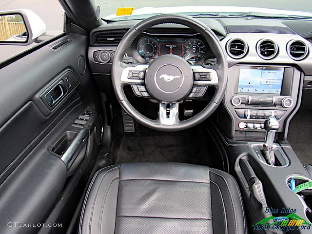 2018 Mustang EcoBoost Convertible - Oxford White / Ebony photo #15