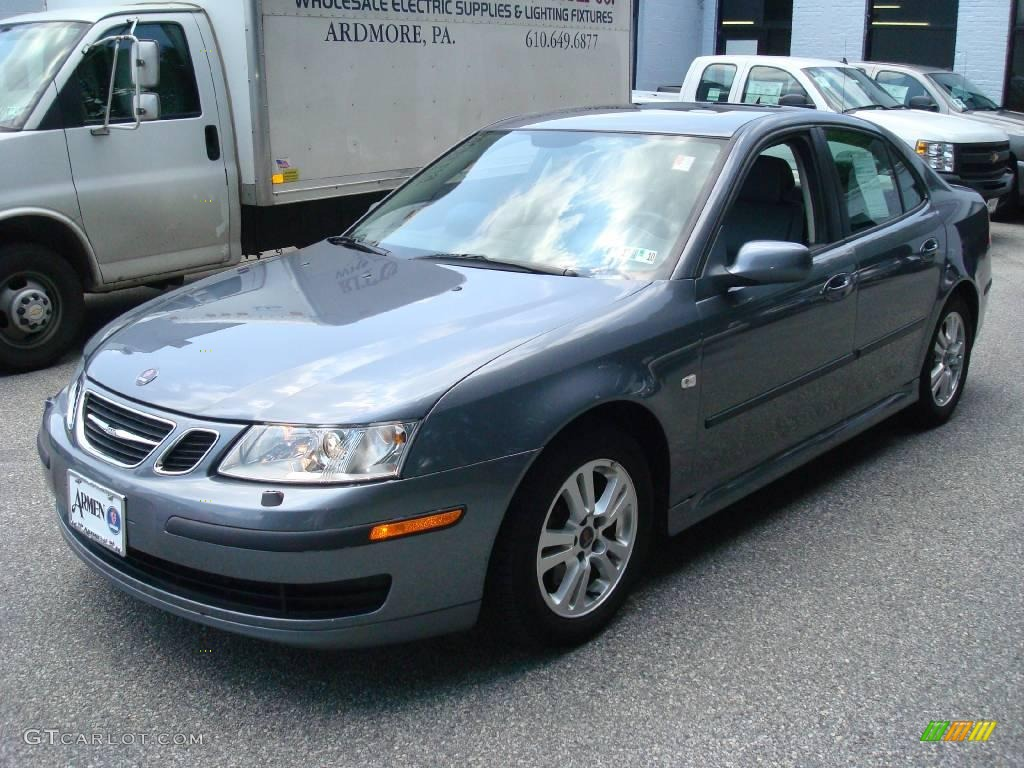 2007 titan gray metallic saab 9 3 2 0t sport sedan. Black Bedroom Furniture Sets. Home Design Ideas