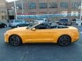 2018 Orange Fury Ford Mustang EcoBoost Premium Convertible  photo #5