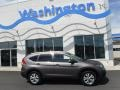 2013 Urban Titanium Metallic Honda CR-V EX AWD  photo #2