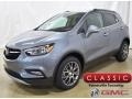 Satin Steel Metallic 2019 Buick Encore Sport Touring AWD