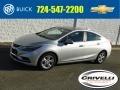 Silver Ice Metallic 2018 Chevrolet Cruze LT