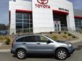 2009 Glacier Blue Metallic Honda CR-V EX 4WD  photo #2