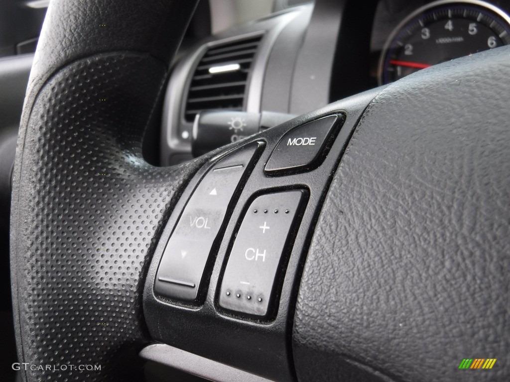 2009 CR-V EX 4WD - Glacier Blue Metallic / Gray photo #17