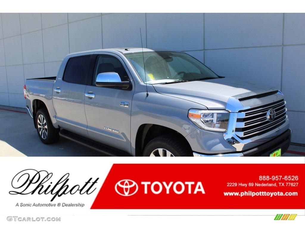 2019 Tundra Limited CrewMax 4x4 - Cement / Graphite photo #1