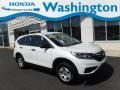 2016 White Diamond Pearl Honda CR-V LX AWD  photo #1
