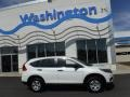 2016 White Diamond Pearl Honda CR-V LX AWD  photo #2
