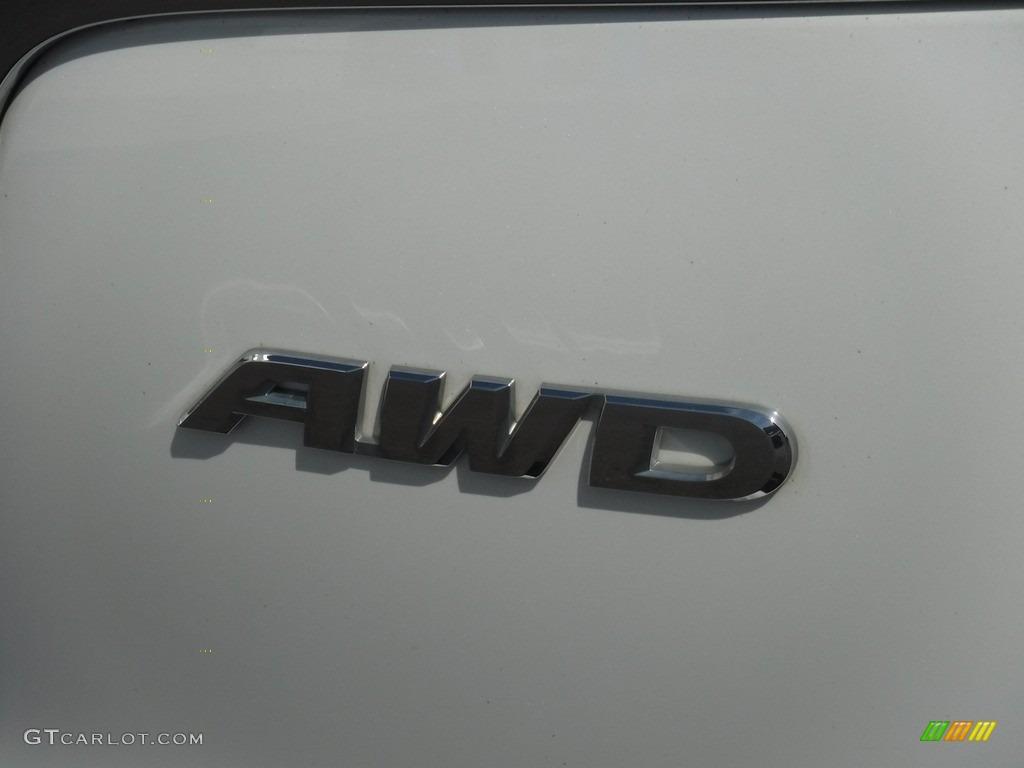 2016 CR-V LX AWD - White Diamond Pearl / Gray photo #10