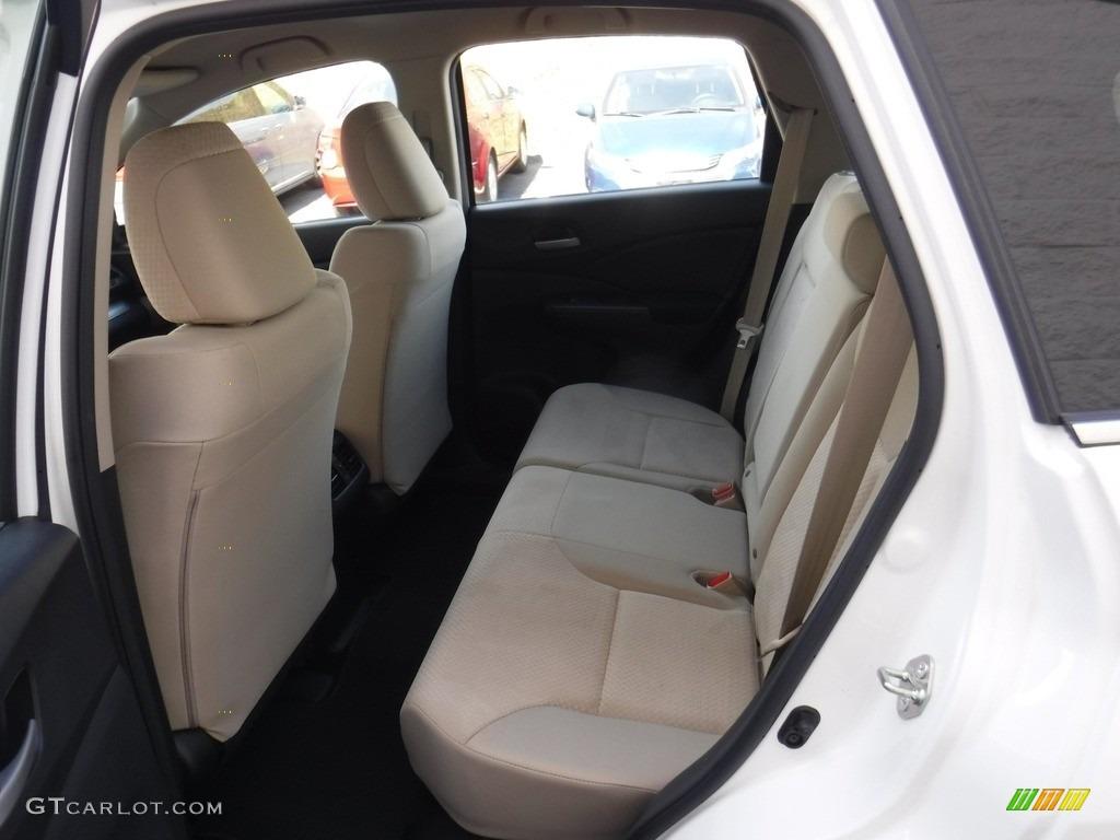 2016 CR-V LX AWD - White Diamond Pearl / Gray photo #23