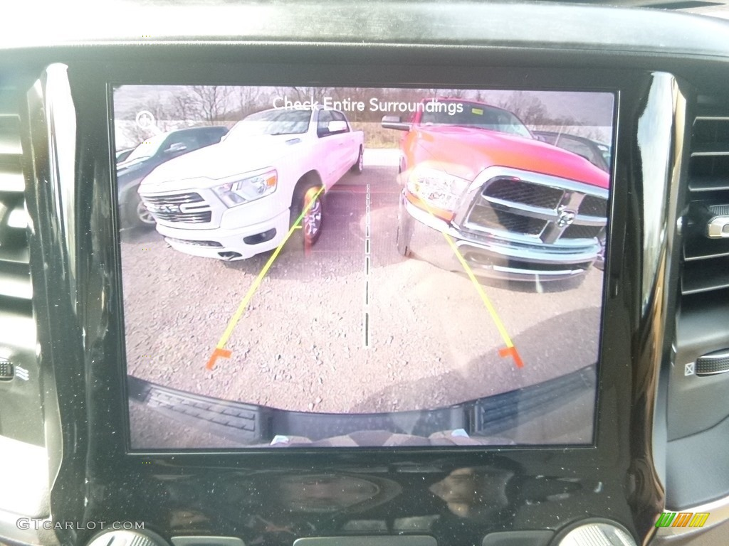 2019 1500 Big Horn Crew Cab 4x4 - Black Forest Green Pearl / Black/Light Mountain Brown photo #17