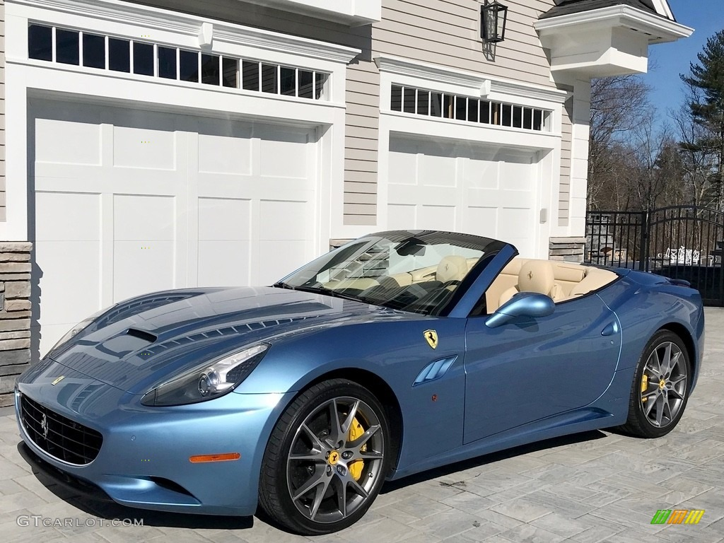 Azzurro California Light Blue 2013 Ferrari California 30 Exterior Photo 132837555 Gtcarlot Com