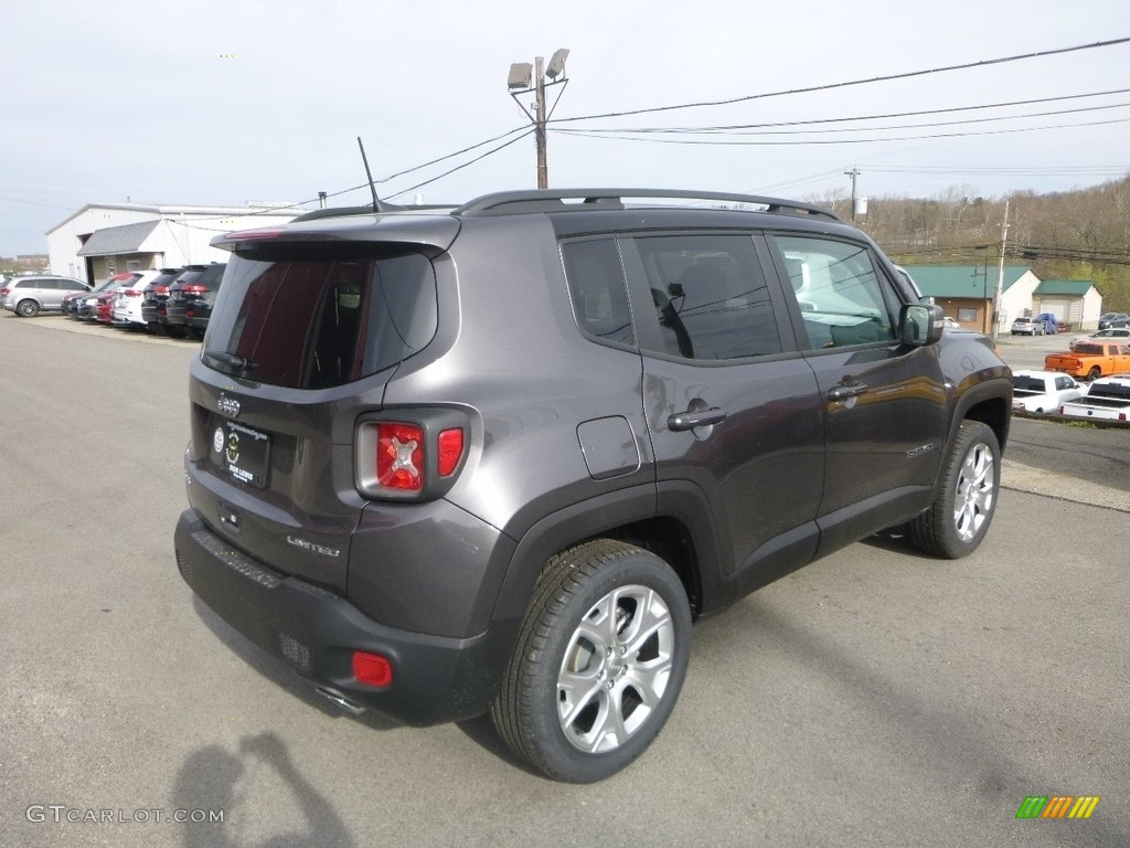 2019 Renegade Limited 4x4 - Granite Crystal Metallic / Black photo #5