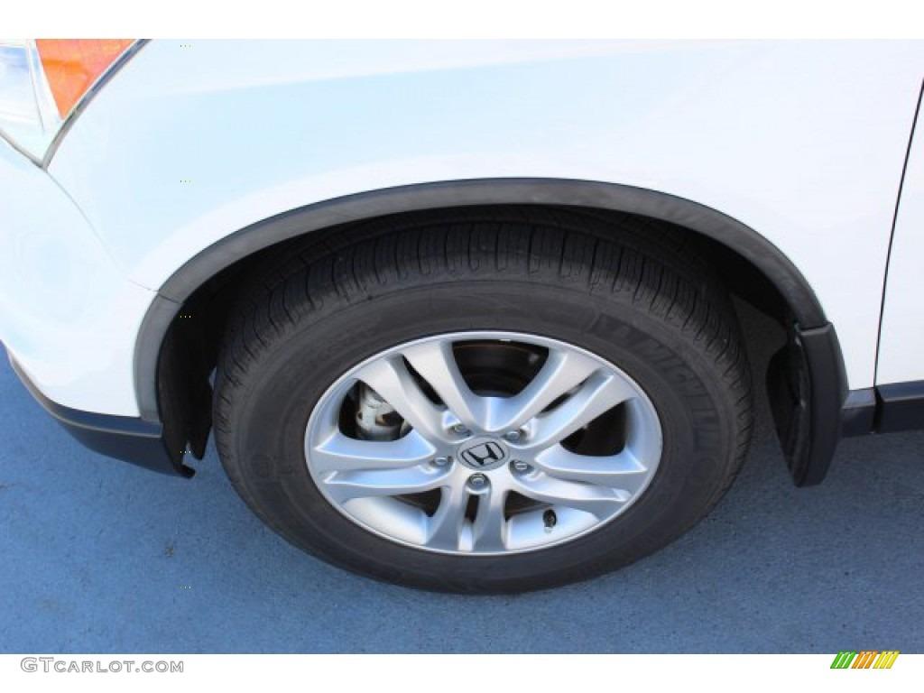 2011 CR-V EX-L 4WD - Taffeta White / Gray photo #5