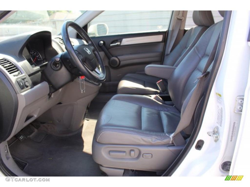 2011 CR-V EX-L 4WD - Taffeta White / Gray photo #10