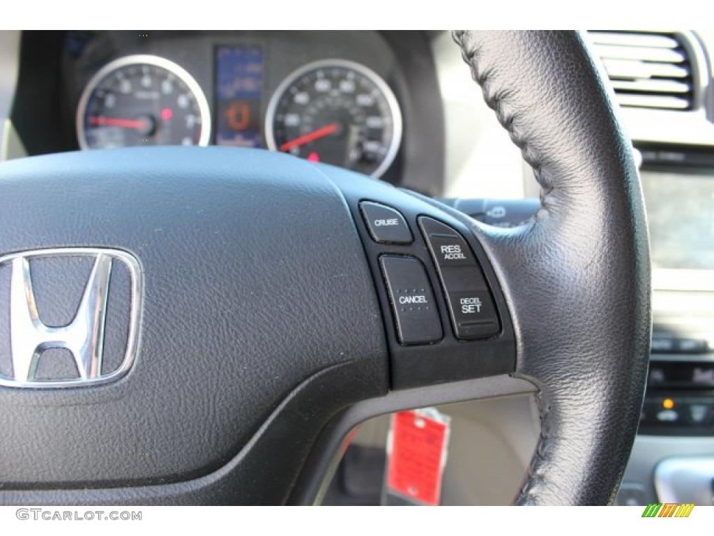 2011 CR-V EX-L 4WD - Taffeta White / Gray photo #15